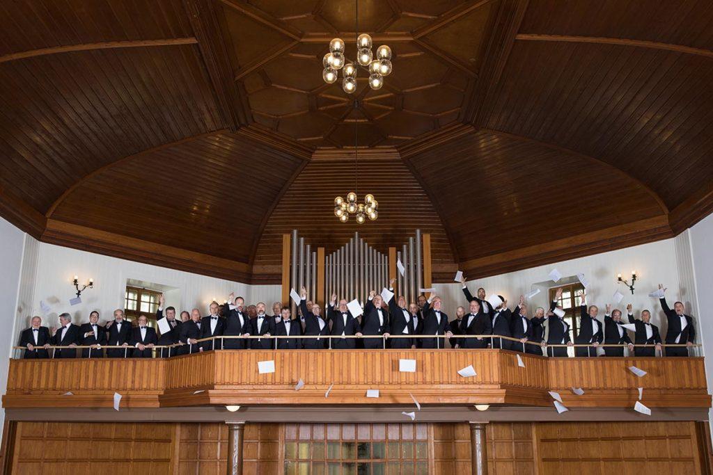 Chorale du Brassus après un concert